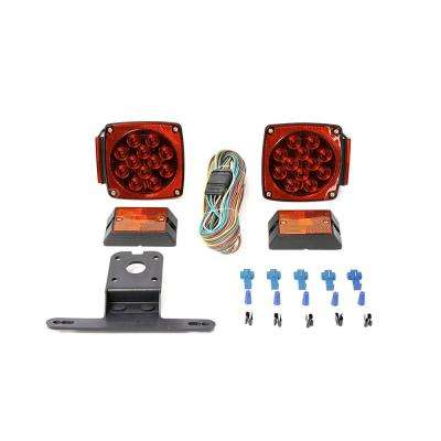 12-Volt ALL LED Submersible Trailer Light Kit