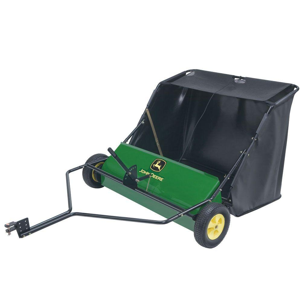John Deere 42 In 24 Cu Ft Tow Behind Lawn Sweeper Sts
