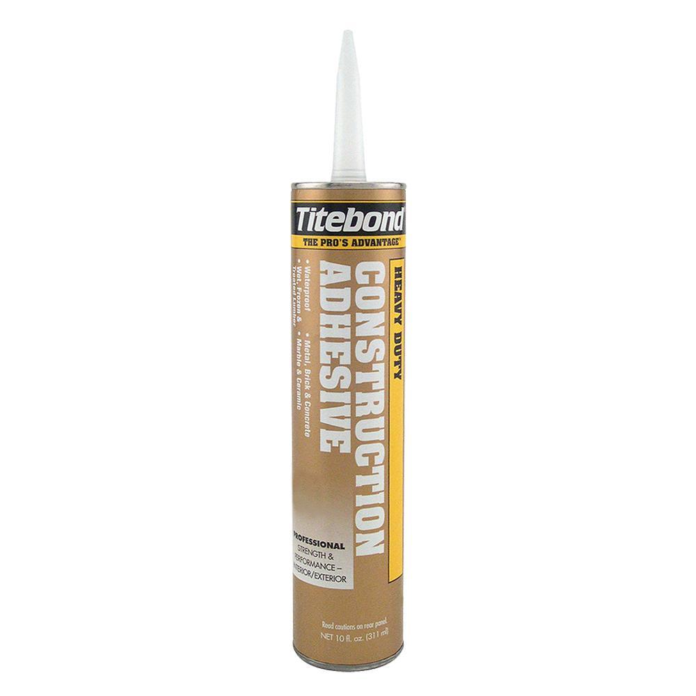 Titebond 10 oz. Heavy Duty Construction Adhesive (12-Pack)