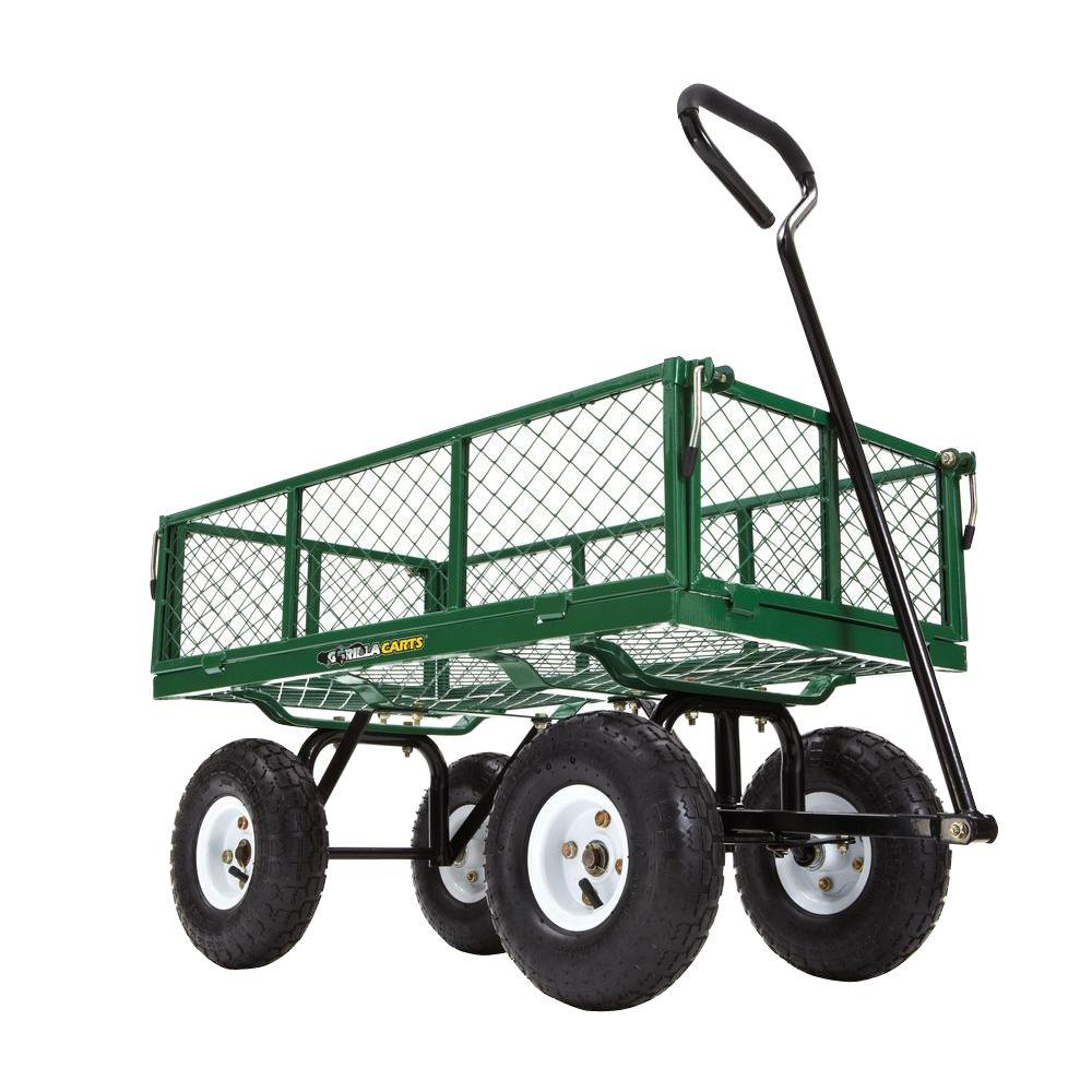 Upc 722571010966 Gorilla Carts Steel Garden Cart With