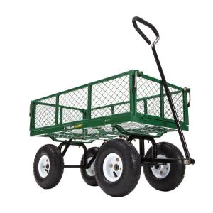 Gorilla Carts 400 lb. Steel Utility Cart by Gorilla Carts