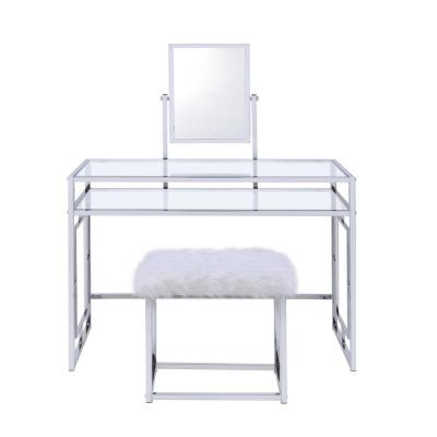 Wondrous Makeup Vanities Bedroom Furniture The Home Depot Gmtry Best Dining Table And Chair Ideas Images Gmtryco