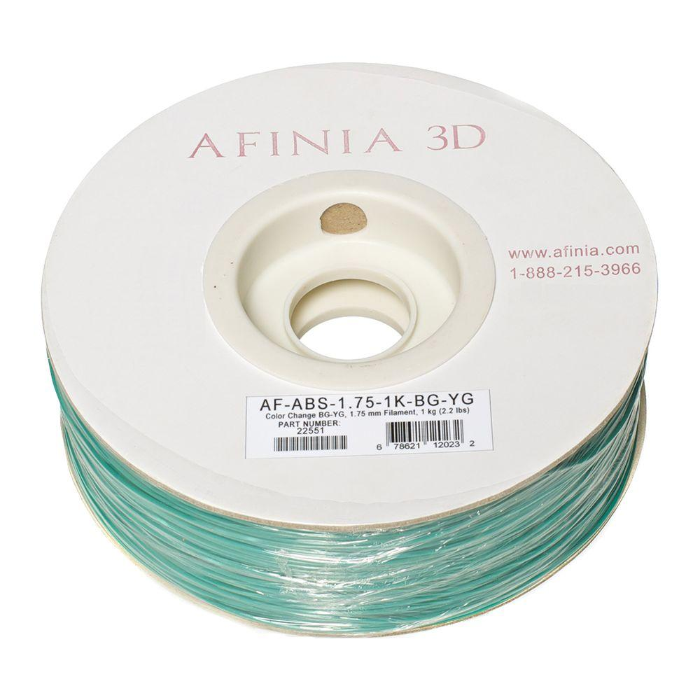 Value-Line 1.75 mm Blue/Green to Yellow/Green Color Changing ABS Plastic 3D