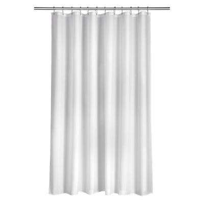 Shower Curtain in Plain White