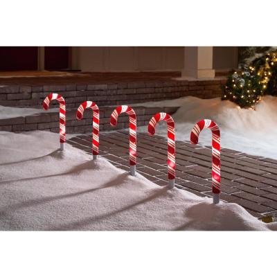 18in. LightShow Candy Cane Pathway Stake