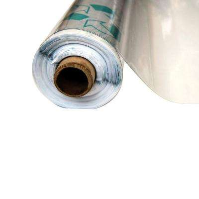 4-1/2 ft. x 75 ft. Clear 12 mil Plastic Sheeting