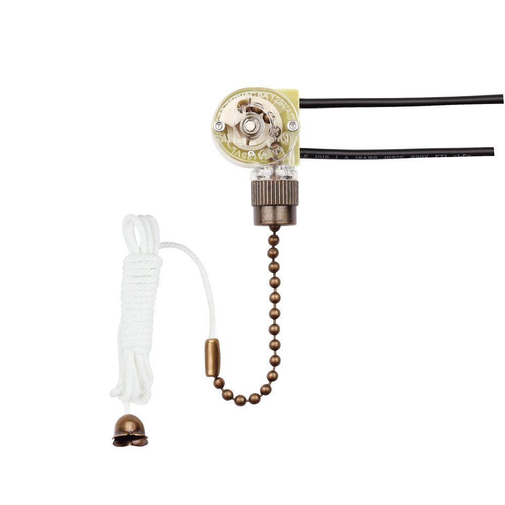 Vintage Fan Switch : Westinghouse fan light switch  the home depot