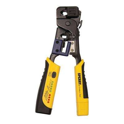 Crimp-n-Test RJ45 Crimper and Tester