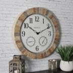 18 in. Sandstone Outdoor Clock