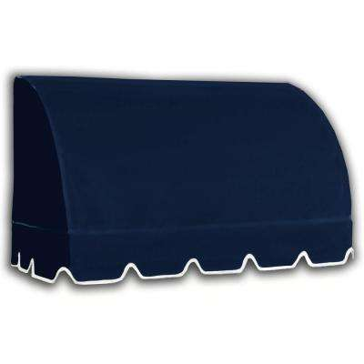 18 ft. Savannah Window/Entry Awning (44 in. H x 36 in. D) in Navy