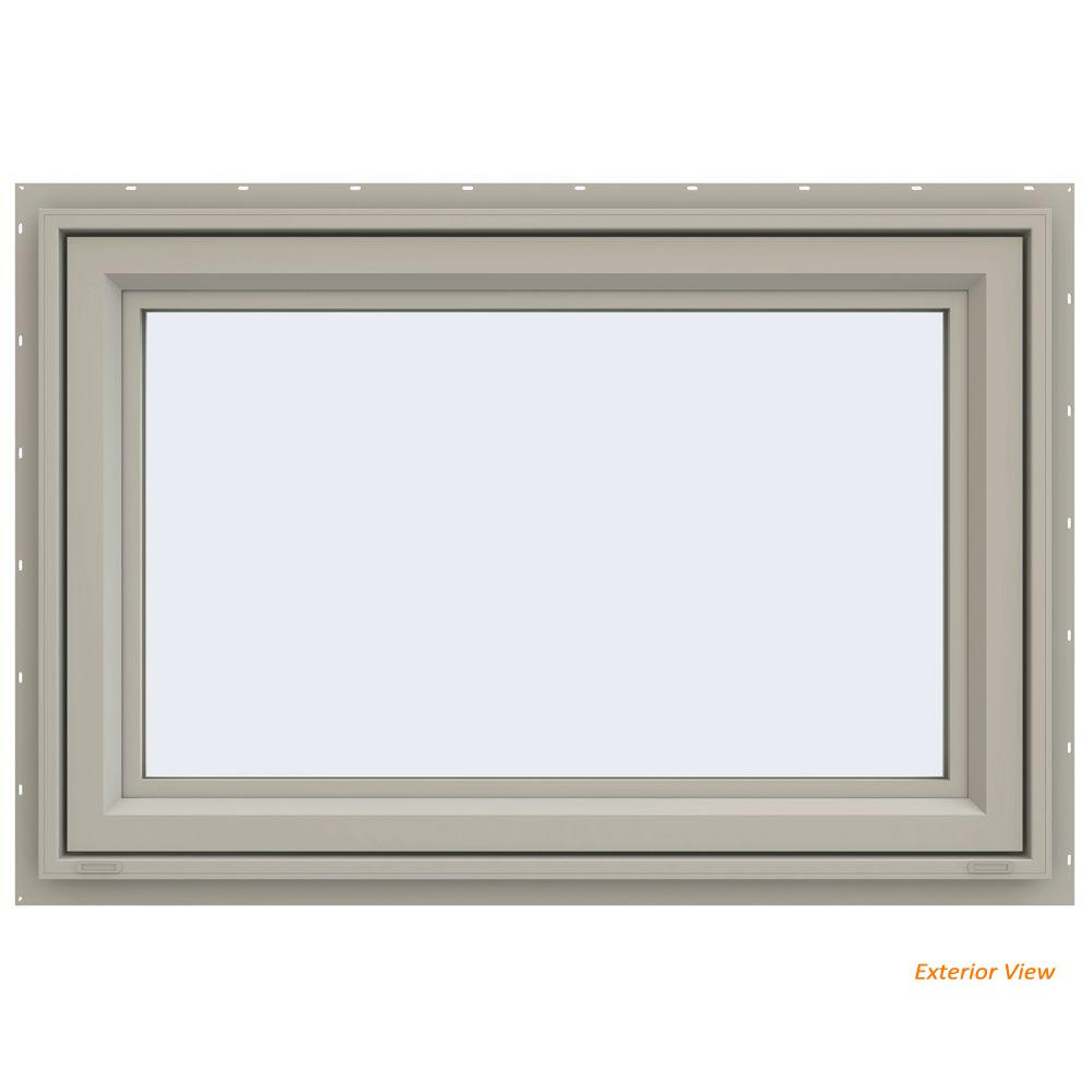 35.5 in. x 23.5 in. V-4500 Series Desert Sand Painted Vinyl