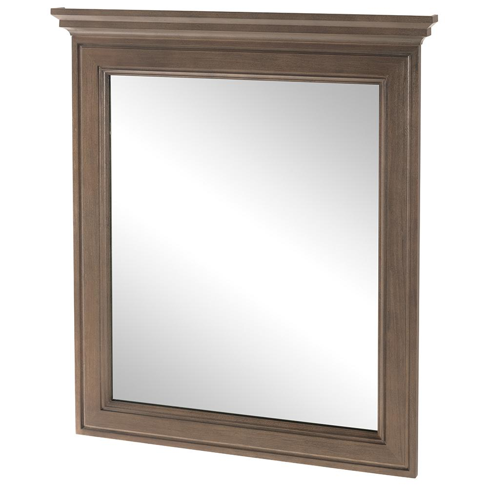 Albright 30 in. W x 34 in. H Framed Wall Mirror