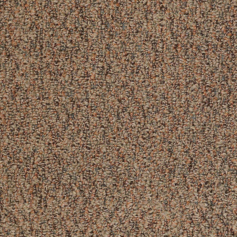 Carpet Sample - Isla Vista - In Color Copper Earth 8 in. x 8 in.