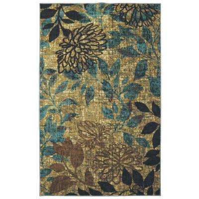 Mystic Garden Multi 5 ft. x 8 ft. Indoor Area Rug