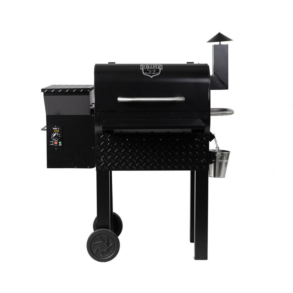KC King 600 Pellet Grill in Black