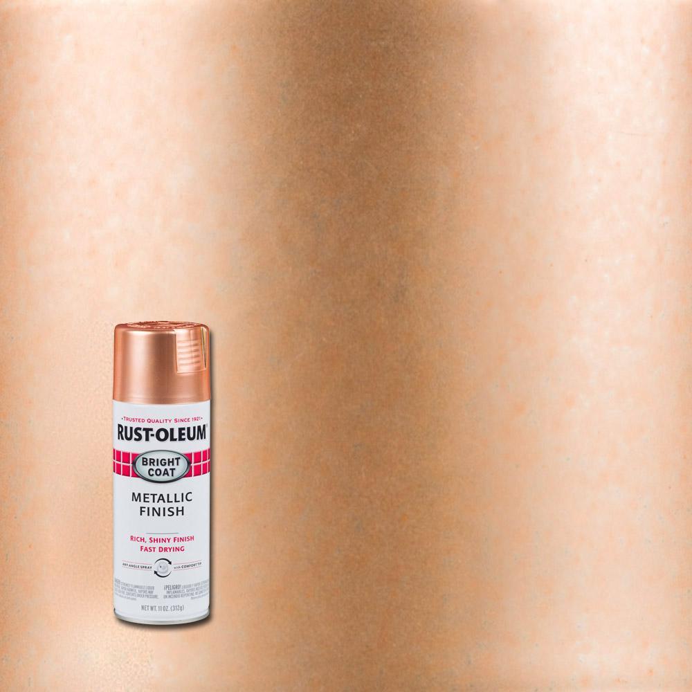 Rust-Oleum Stops Rust 11 oz. Copper Protective Enamel Metallic Spray Paint