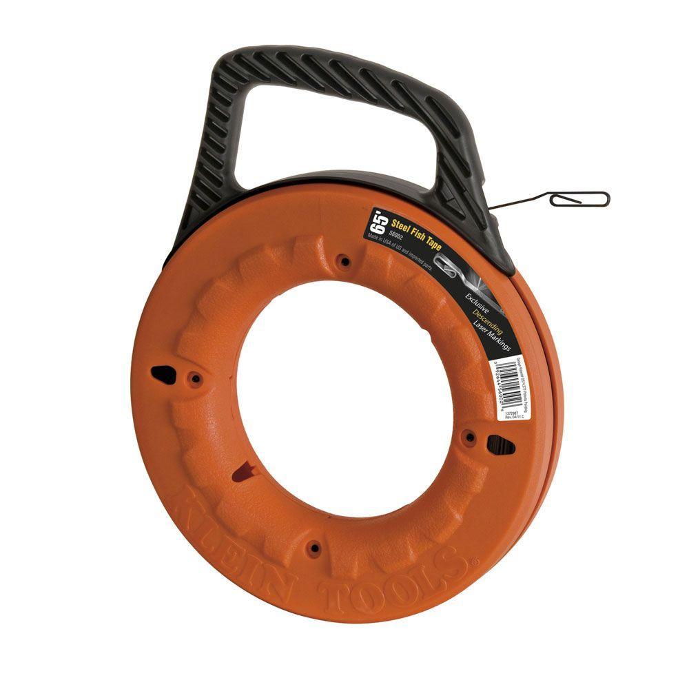Klein Tools Depthfinder 65 ft. Steel Fish Tape