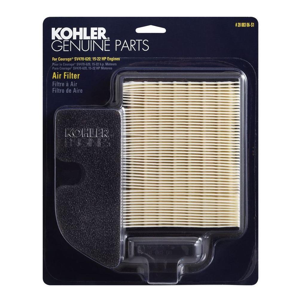 Air Filter For Kohler 20 083 03-S TORO LX420 Cub Cadet LTX1040 KH-20 883 02-S1
