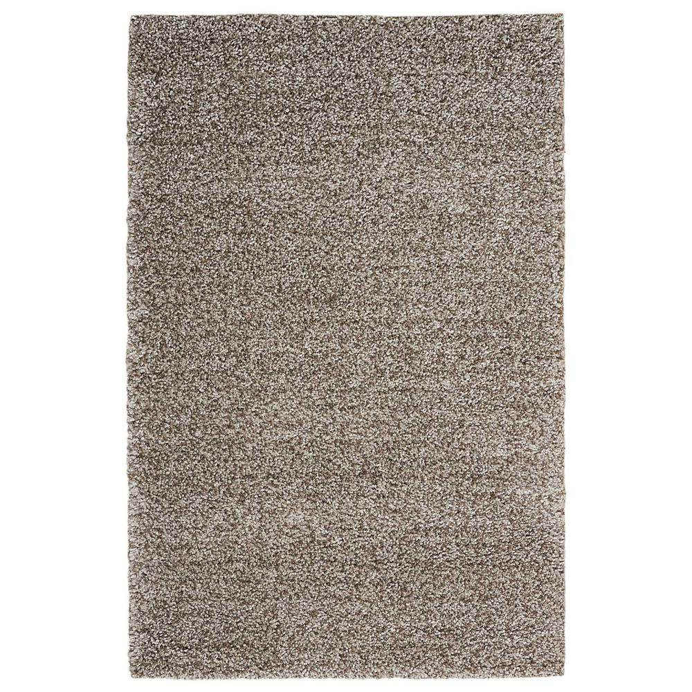 Brisbane Shag Stone 5 ft. x 7 ft. Area Rug