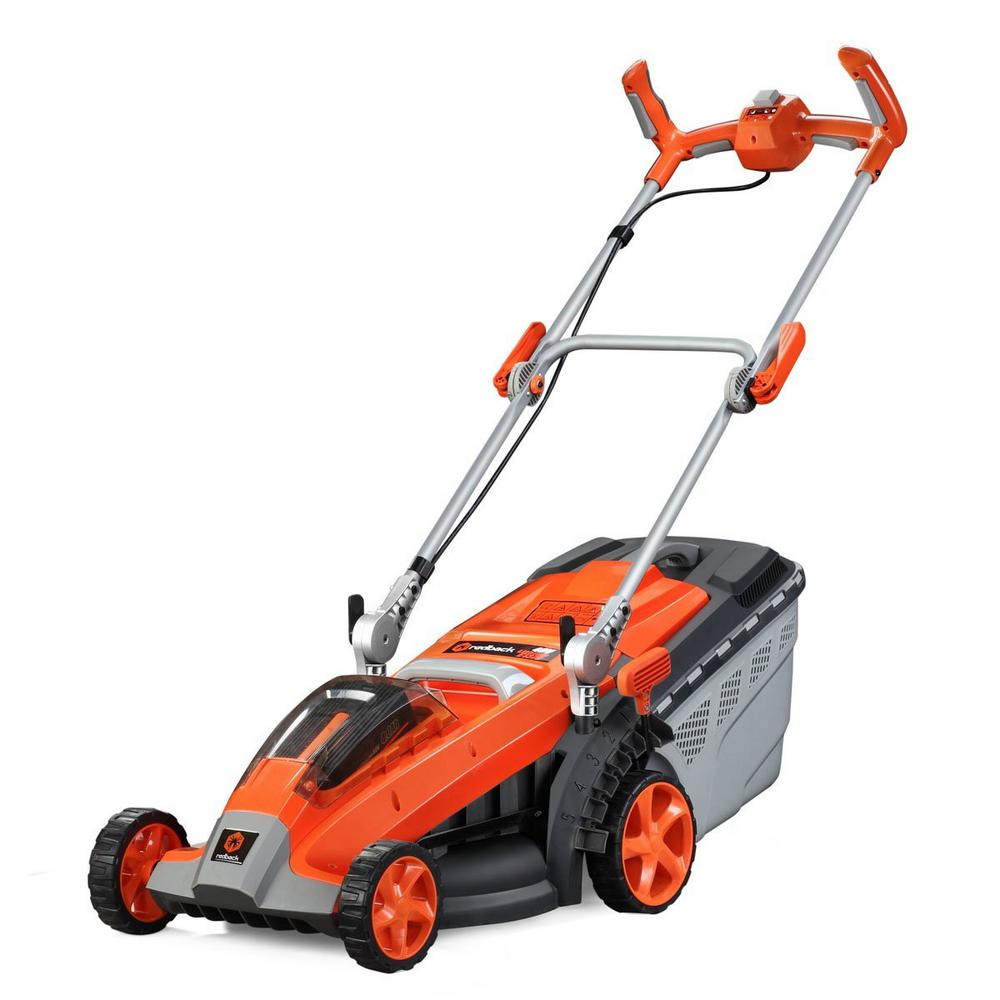 15 in. 40-Volt Lithium-Ion Cordless Electric Walk Behind Push Mower