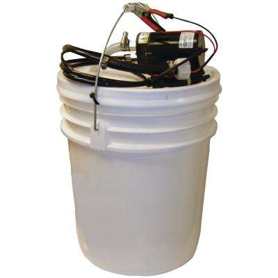 12-Volt Complete Oil Change Kit With Pail