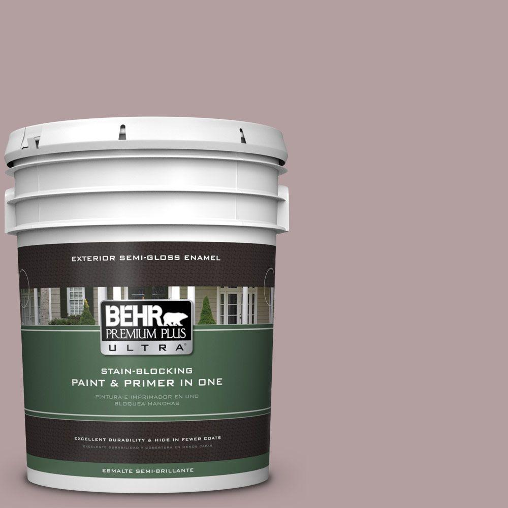 BEHR Premium Plus Ultra Home Decorators Collection 5-gal. #HDC-CT-18 Violet Vista Semi-Gloss Enamel Exterior Paint