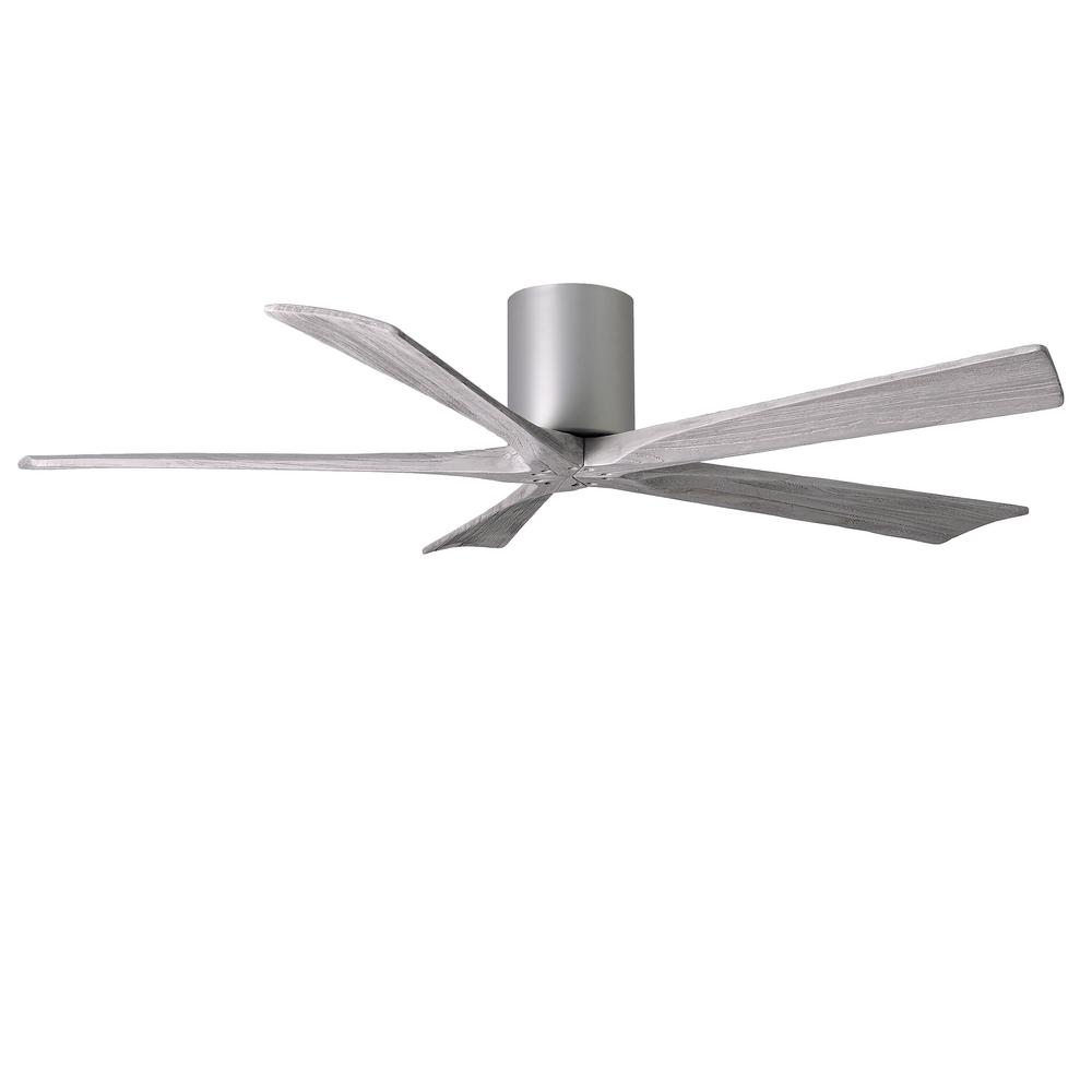 Irene 60 in. Indoor/Outdoor Brushed Nickel Ceiling Fan With Remote Control