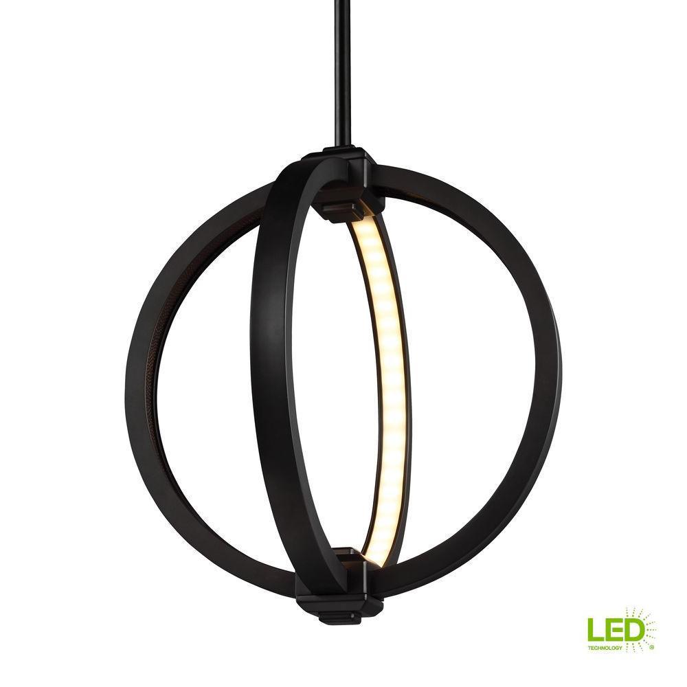 Feiss Khloe 8.5-Watt Oil Rubbed Bronze Integrated LED Pendant