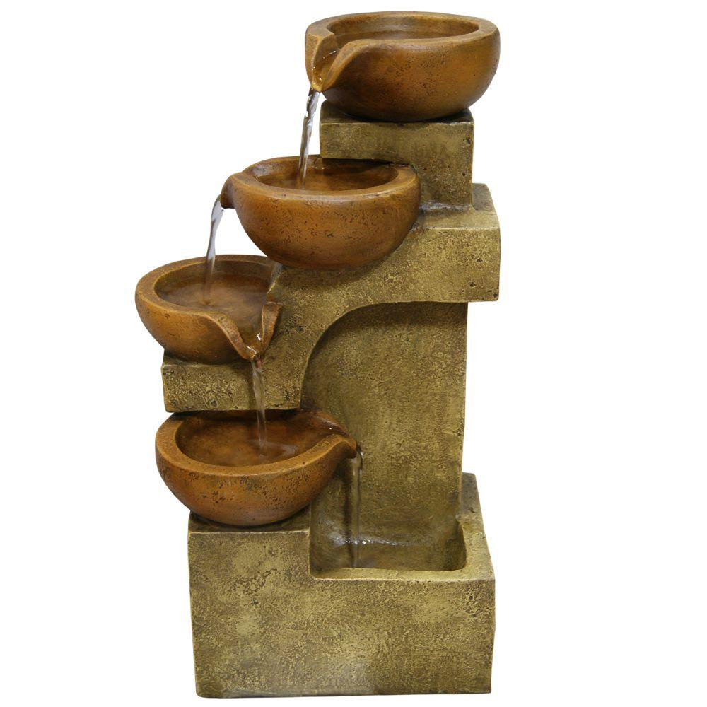 Tiering Pots Tabletop Fountain WCT726   The Home Depot