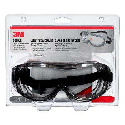 Professional Chemical Splash/Impact Safety Goggles
