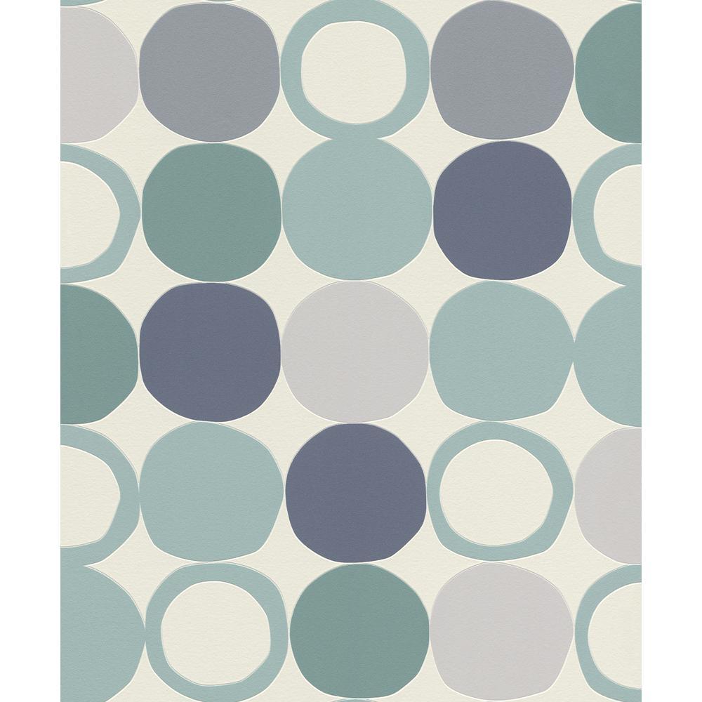 Advantage Beard Blue Geometric Wallpaper 2813 805130 The