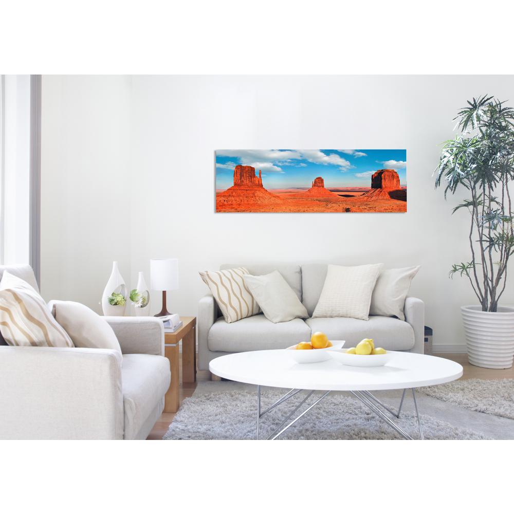 30 in. H x 10 in. W 'SAI - Utah' by Oliver Gal Framed Canvas Wall Art