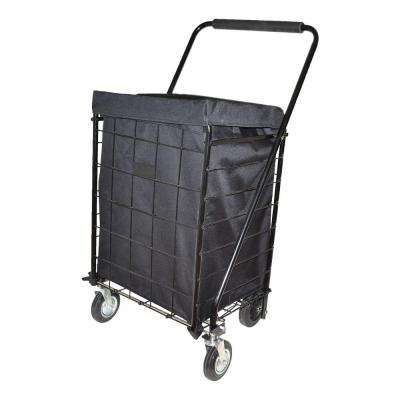 Deluxe Black Jumbo Hooded Carrier Liner
