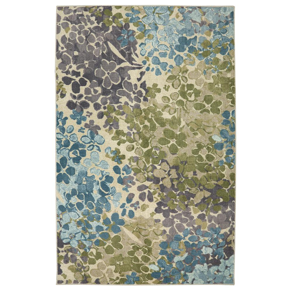 Mohawk Home Radiance Aqua 2 ft. 6 in. x 3 ft. 10 in. Accent Rug