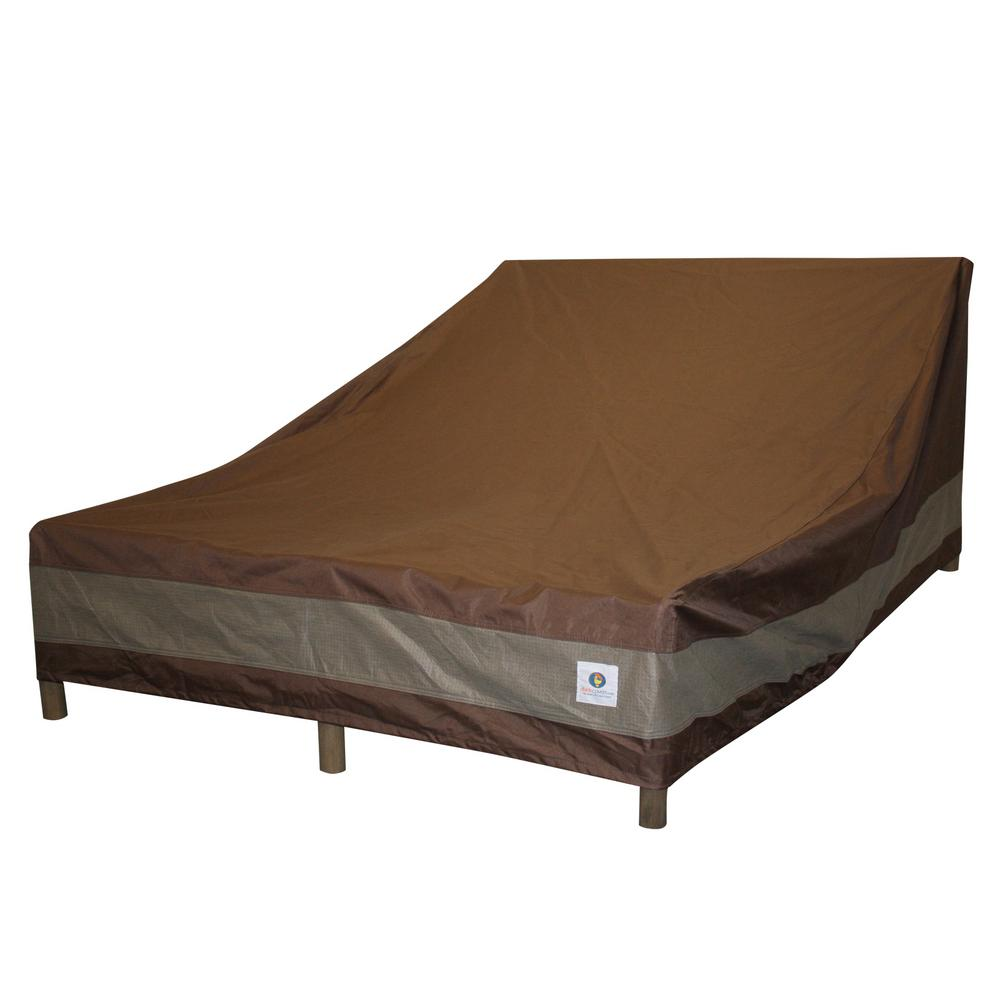 Duck Covers Ultimate 82 in. L Double Chaise Lounge Cover