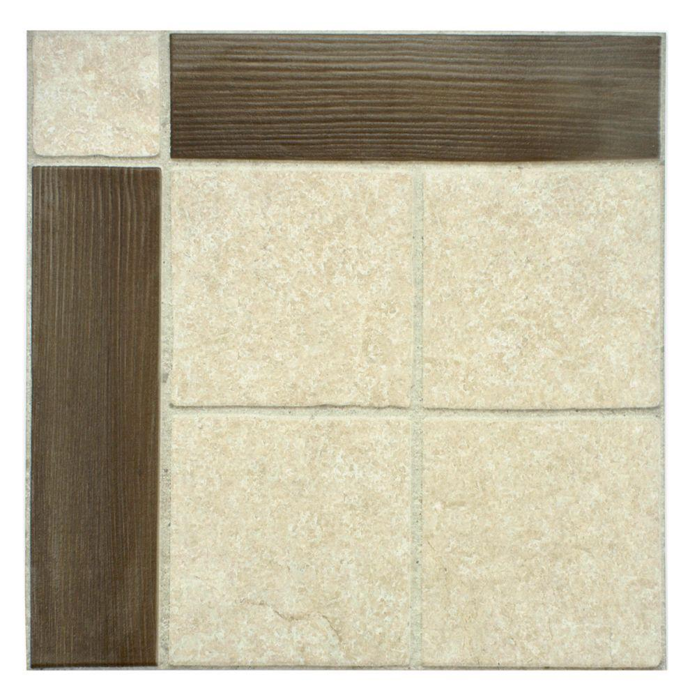Merola Tile Samoa Umber 17-3/4 in. x 17-3/4 in. Ceramic Floor and Wall Tile (15.75 sq. ft. / case)-DISCONTINUED