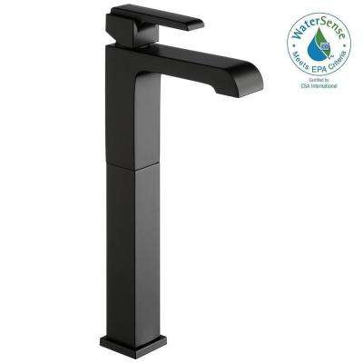 Ara Single Hole Single-Handle Vessel Bathroom Faucet in Matte Black