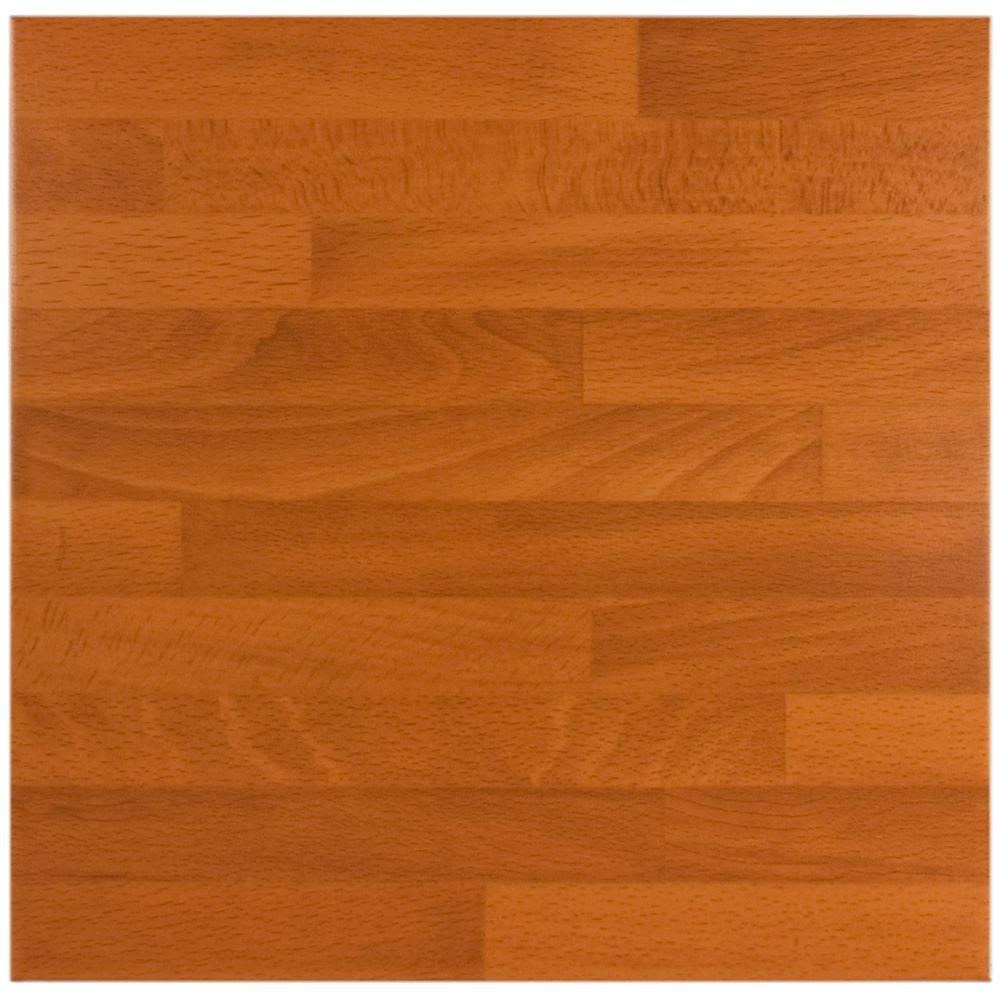 Merola Tile Teka Marron 17-3/4 in. x 17-3/4 in. Ceramic Floor and Wall Tile (17.63 sq.ft./case)-DISCONTINUED