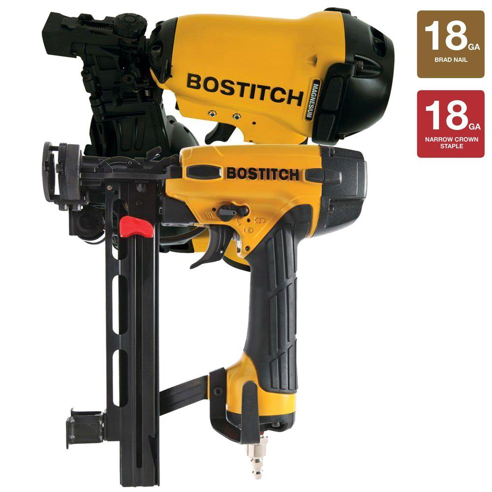 Exceptional Bostitch 1 3/4 In. Roofing Nailer And 18 Gauge Cap Stapler
