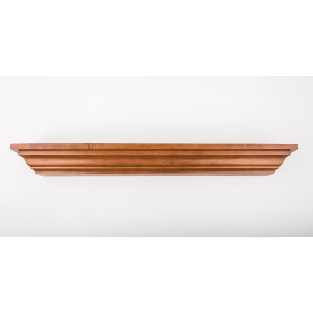 48 in. L x 5 in. D Floating Honey Crown Molding