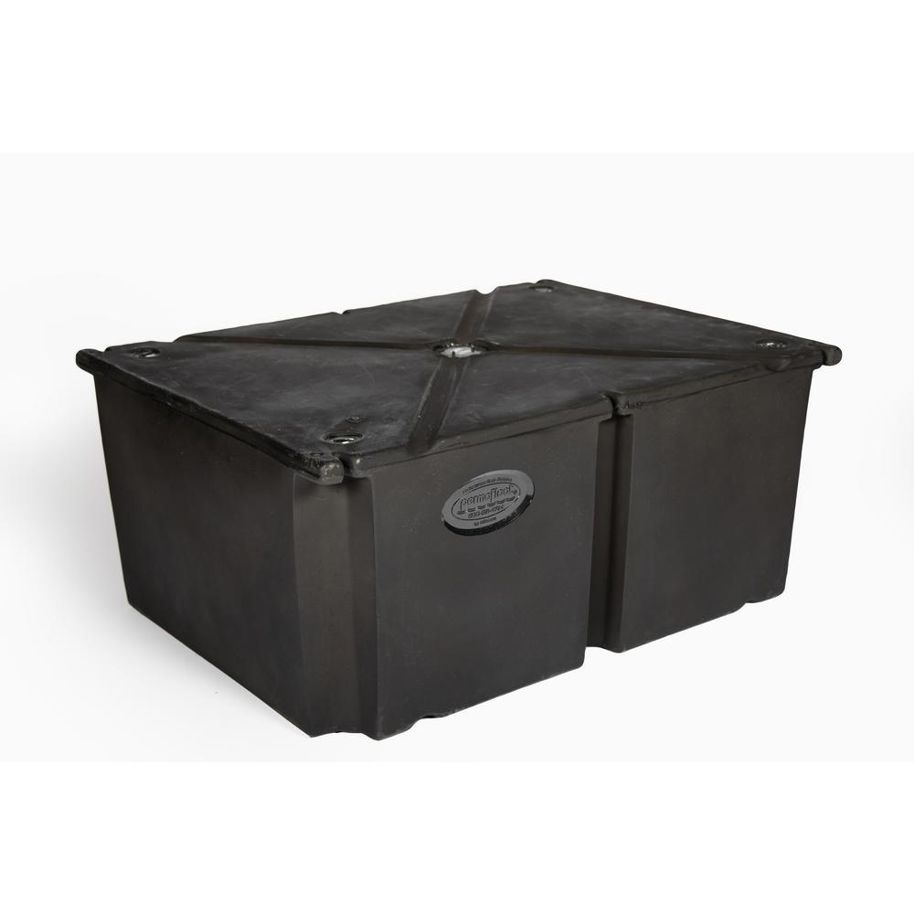 PermaFloat 24 in. x 48 in. x 24 in. Dock System Float Drum