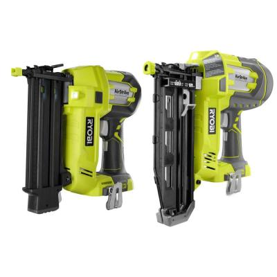 18-Volt ONE+ Cordless 18-Gauge AirStrike Brad Nailer with 16-Gauge AirStrike Straight Finish Nailer (Tools Only)