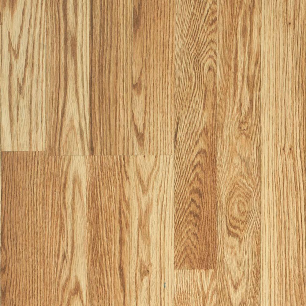 Pergo Presto Belmont Oak Laminate Flooring - 5 in. x 7 in. Take Home Sample