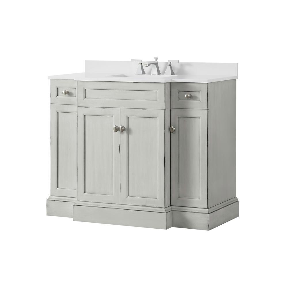Home Decorators Collection Teagen 42 In, Home Decorators Collection Bathroom Vanity