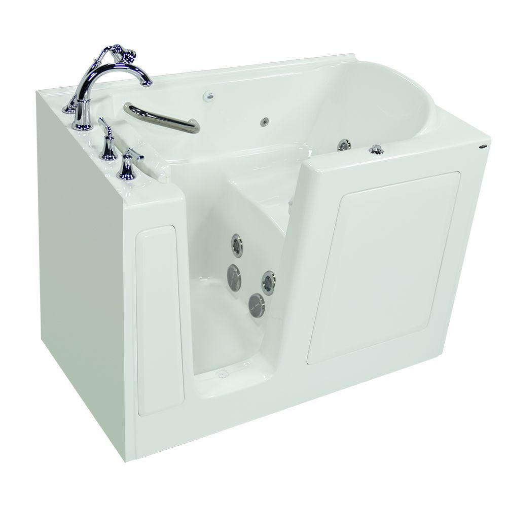 Delta classic 400 curve in x in x in for Walk in tub water capacity