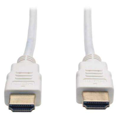 Ultra HD High-Speed HDMI Cable in White
