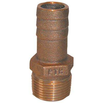 PTH Bronze Standard Flow Pipe-To-Hose Adapter With NPT Thread