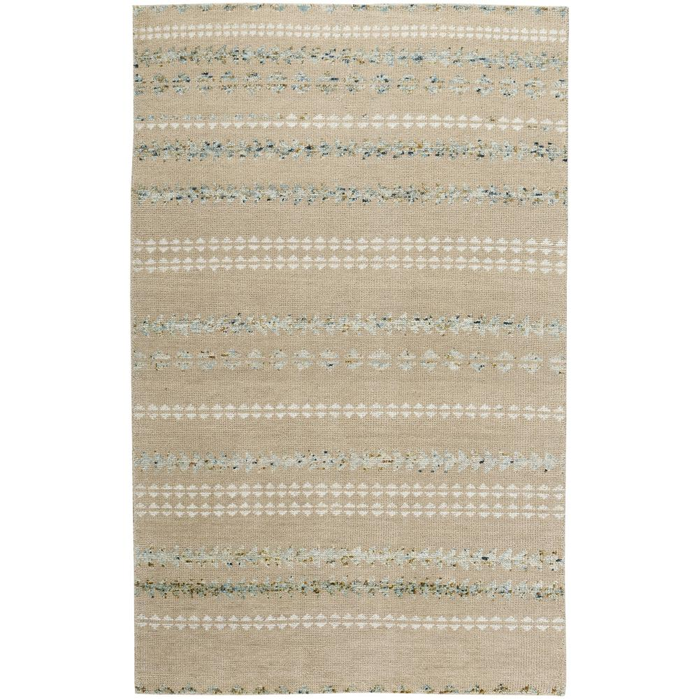 Genevieve Gorder Scandinavian Stripe Beige Smoke 9 Ft X 12 Area Rug
