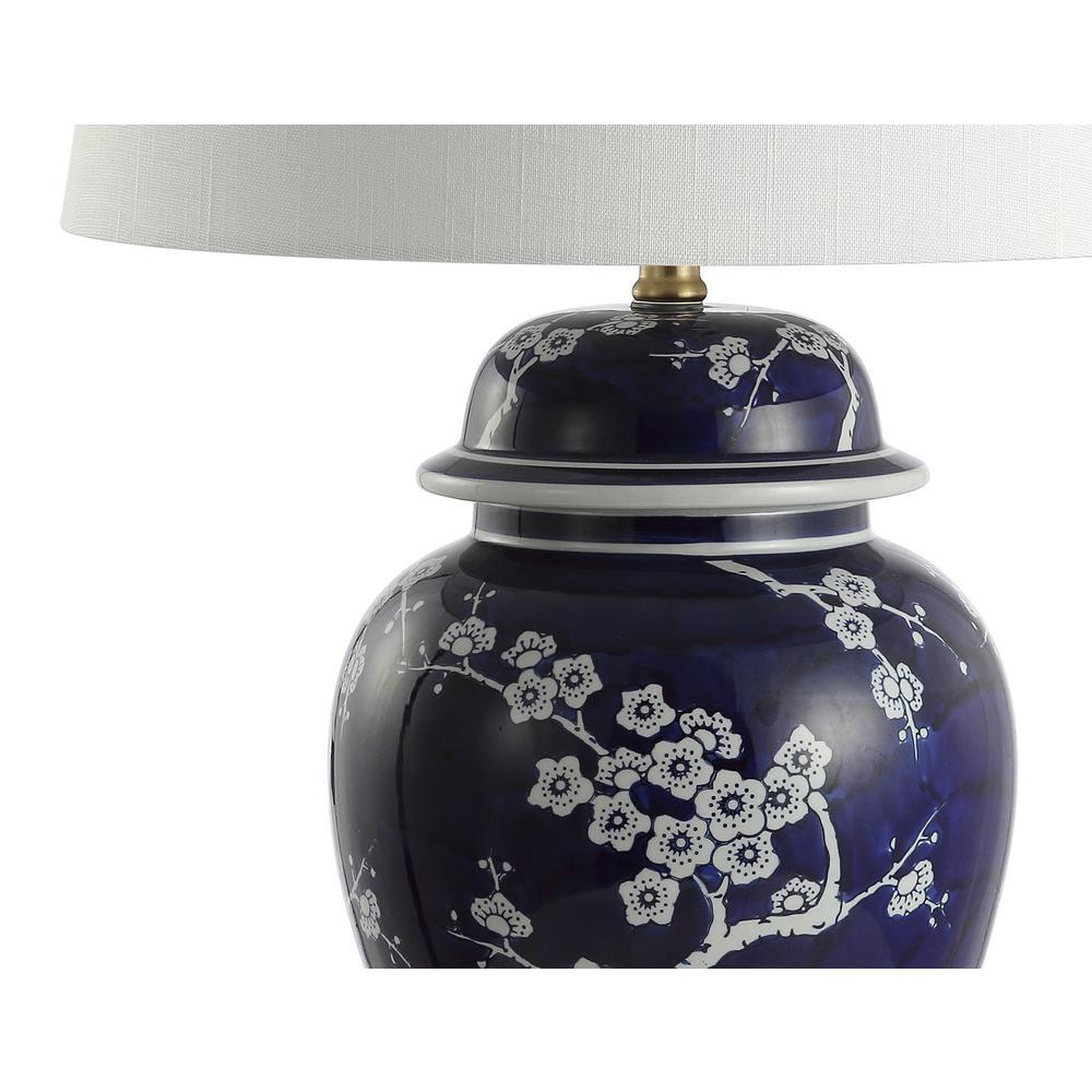 Ginger Jar Ceramic Metal Led Table Lamp