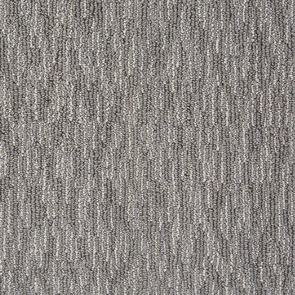 Oceanic Tweed - Color Battleship Loop 12 ft. Carpet